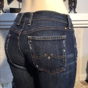 LUCKY BRAND JEANS SWEET N LOW DISTRESSED 8/29
